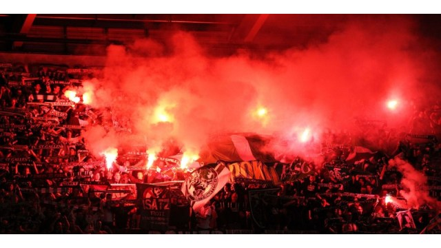 Flares and Smoke bombs, the argument burns on  A blog from Blair